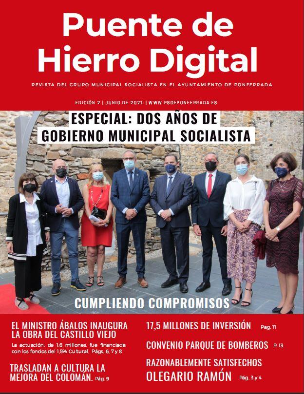 Puente de Hierro Digital. Número 2. Especial Dos años de Gobierno Municipal Socialista
